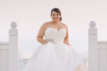 4 plus size wedding gown trends for the gorgeous curvy bride.