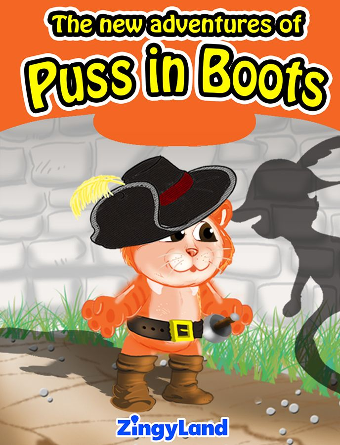 Puss in boots is in trouble! Read the new adventure of the famous cat and play with Free games!