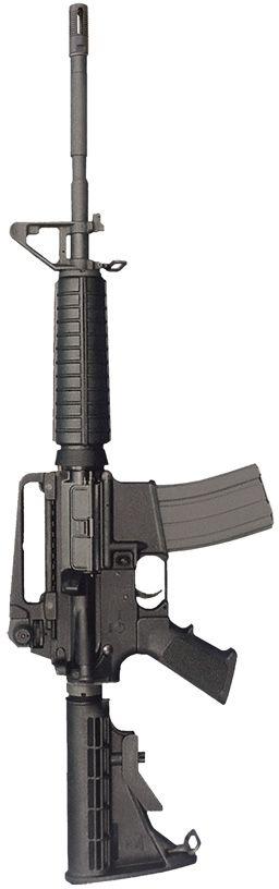 A Bushmaster carbine