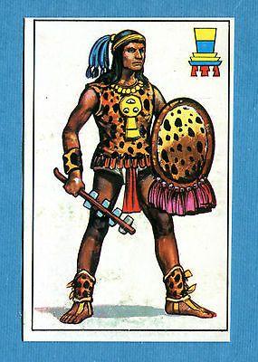 ARMI E SOLDATI - Edis 71 - Figurina-Sticker n. 179 - GUERRIERO AZTECO -Rec