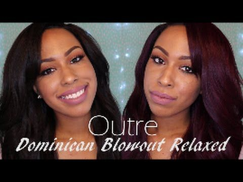 Outre Dominican Blowout Relaxed Lace Front Wig | 2 Colors | Ft. iMadameJay
