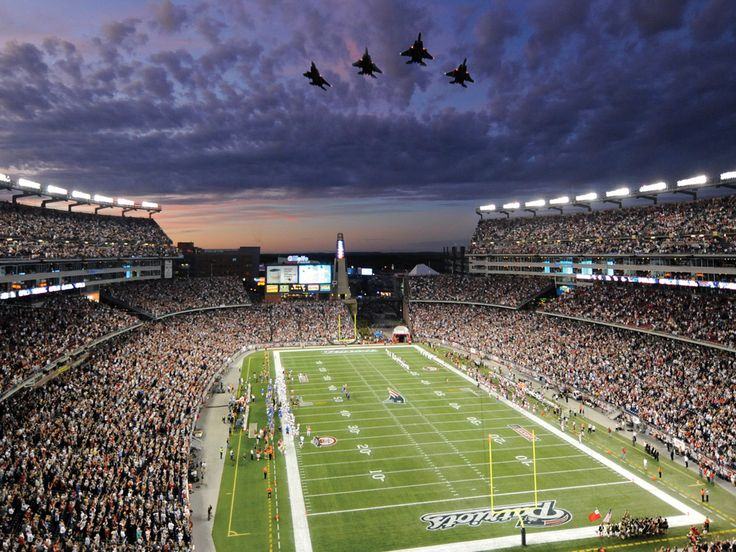New England Patriots | New England Patriots Stadium Widescreen HD Wall (2544) Sport ...