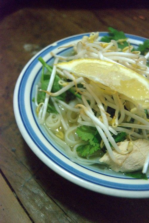 Vietnamese chicken soup 163 calories