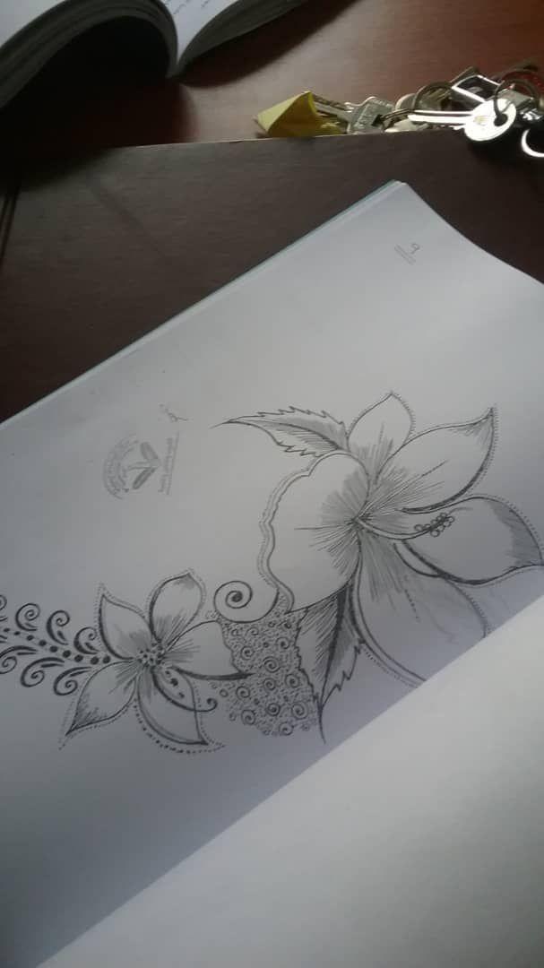 Yemeni Naksh Lotus Flower Tattoo Flower Tattoo Henna