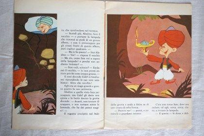 イタリア雑貨 | 書物 | 『ALADINO E LA LAMPADA MAGICA』 (アラジンと魔法のランプ)