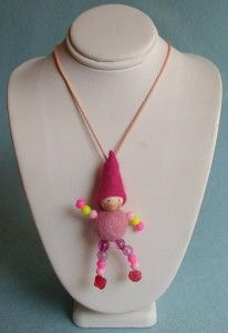 little girls? or is it weird to have a doll hanging around your neck?!
