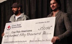 Juanes y Juan Luis Guerra donan dinero para víctimas de ´Sandy´ | Cachicha.com
