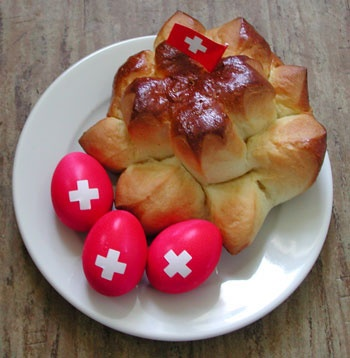 Celebrating Swiss National Day!