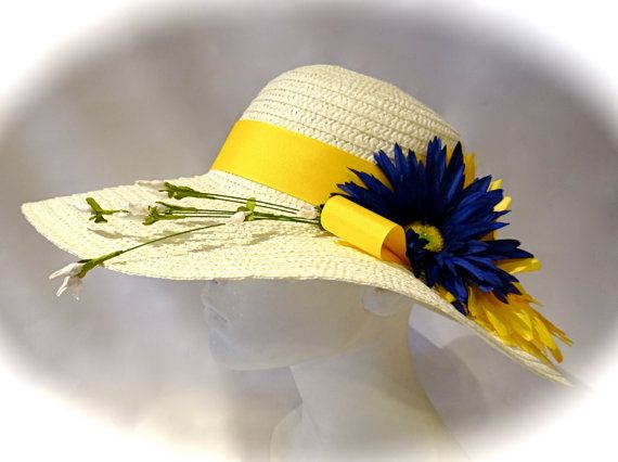 White Orchid Easter Hat Women's Hats Tea Party Hats Mother of the Bride DH-136