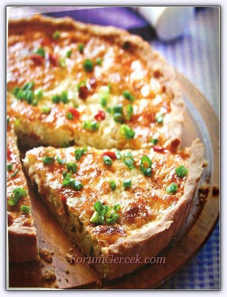 Taze Soğanlı Peynirli Kiş (8 Kişilik) - Forum Gerçek
