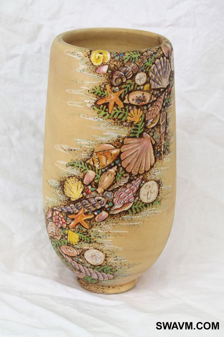 54 best seashell vase images on pinterest shells clam shells colored pencil vase easy to make vase to give as a teacher gift reviewsmspy