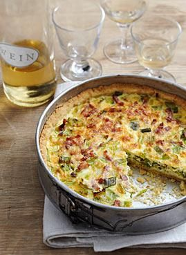 Rezept: Lauch-Speck-Kuchen - [LIVING AT HOME]
