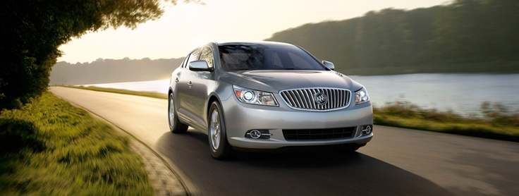 2013 #BUICK #LACROSSE — STABILITRAK AND FULL-TIME TRACTION CONTROL