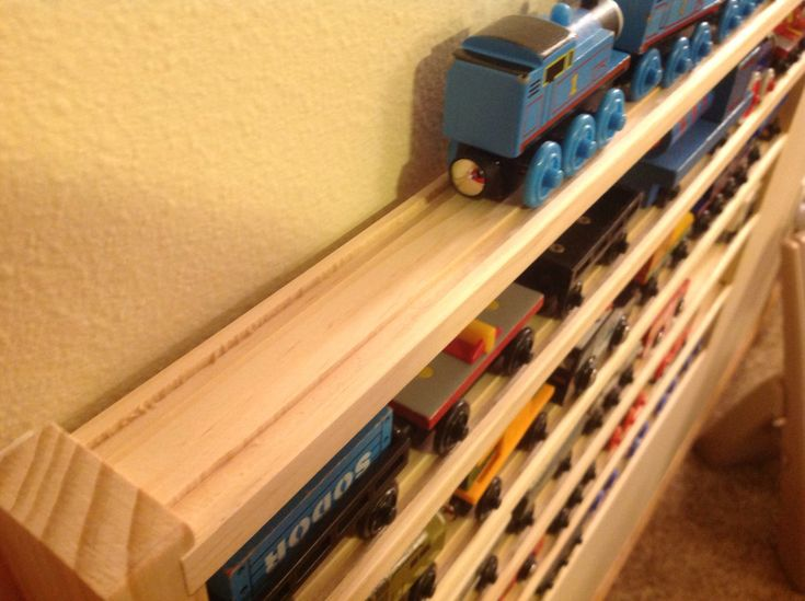 Model Train Racks : Best images about toys train carriage storage on