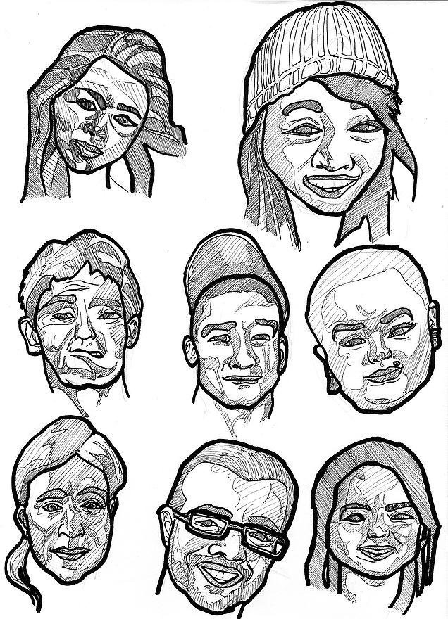 james-mathurin-art | I sketch stuff: Faces
