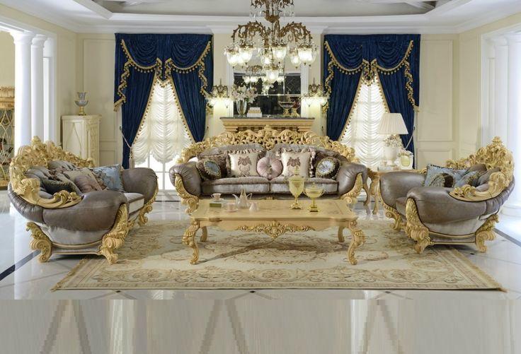 Sofa Ruang Tamu Mewah Ukir Jepara Klasik Jika anda tertarik denga produkSofa Ruang Tamu Ukirkami anda boleh menghubungi kontak yang kami sediakan
