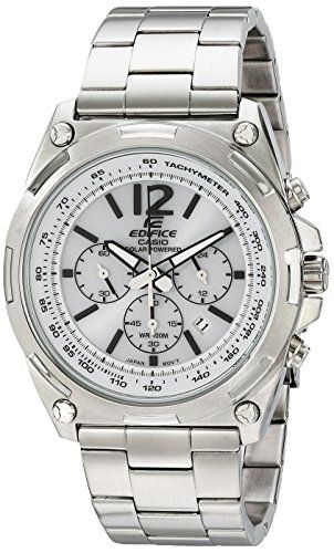 Men's Wrist Watches - Casio Mens EFR545BD7BVCF Edifice Tough Solar Stainless Steel Watch >>> Want to know more, click on the image. (This is an Amazon affiliate link)