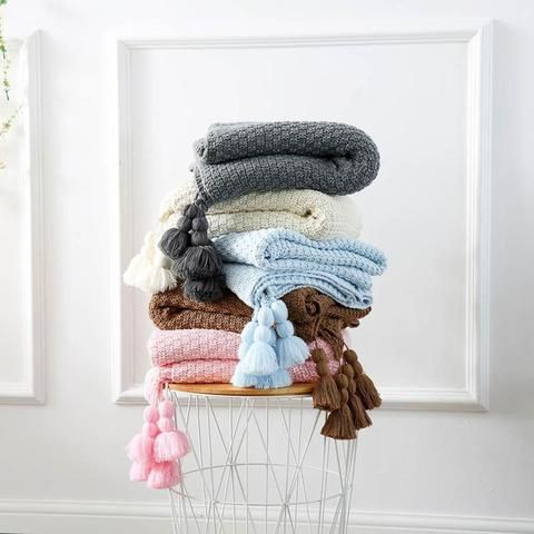 tasselled, knitted, throw, blanket, spoon and the sparrow, winter warmers
