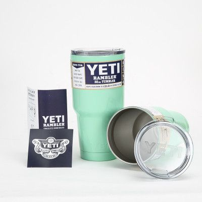 Colorful 30 oz / 20 oz Yeti Tumbler Rambler Cups Stainless Steel Cooler Mugs Car Vacuum Flask Coffee Thermos Vehicle Bottles