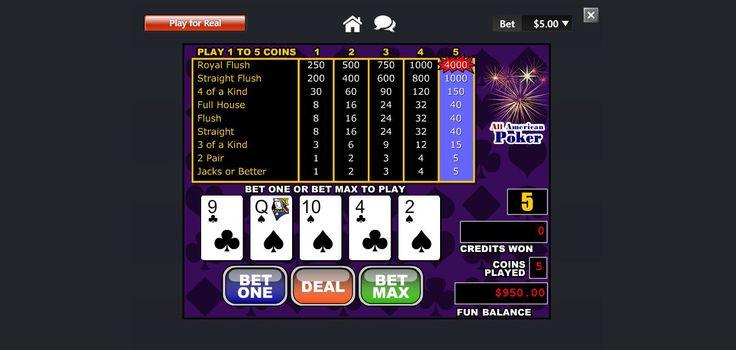 cherry jackpot casino all american poker