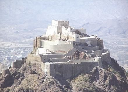 Cairo Castle, Taiz,Yemen.  The Al-Quahira Castle (Cairo Castle) is built on a hill, at almost half the height of Jabal Sabir. It is a historical site full of incidents which affirm that it has been a battlefield for the rulers of the city during past ages.