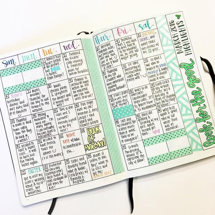 Always my favorite page in my bullet journal. This is one layout I don't think I will ever change! For those of you who may be new to my page, this is my #gratitudelog. I write down 1 highlight of each day or 1 thing I am grateful for that day. Sometimes, it's as simple as having French Toast for dinner (03.21.16), but I love being able to look back on the month and reflect on all the blessings, big or small! Also, I am in denial that Spring Break ends tonight. SIGH. #bulletjournal #bujo ...