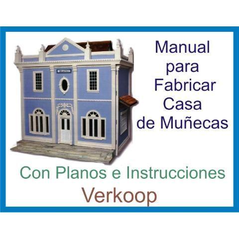 Realiza Casa D Muñecas Planos Muebles Miniaturas Y Regalos