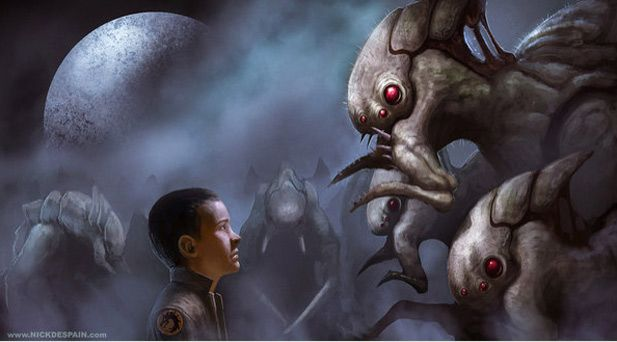 the destruction of the buggers in enders game Buggers in ender's game book, analysis of buggers.