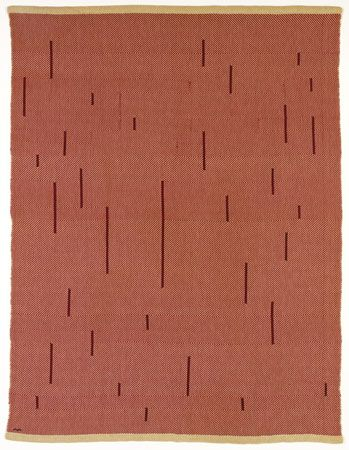 Anni Albers, With Verticals, 1946  Pictoral Weaving. JAAF: 2004.12.1  155 x 118 cm (61 x 46.5 inches)  ©2007 The Josef and Anni Albers Foundation / Artists Rights Society (ARS), New York