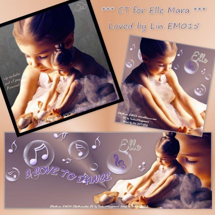 Little Dancer - Tube at www.ellemara.com