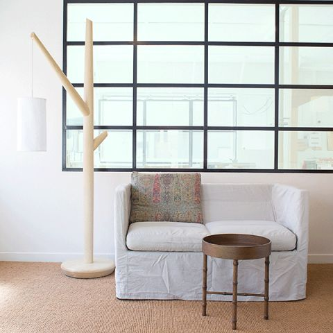 Australian made Big Tree Floor Lamp by Pierre and Charlotte is sure to make a statement in any home.