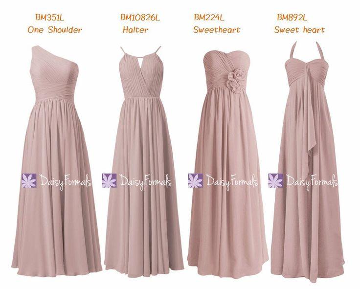 Best 25+ Dusty pink bridesmaid dresses ideas on Pinterest ...