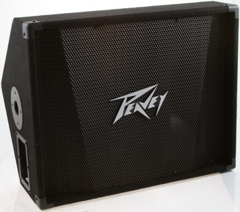 """Peavy PV 12M Stage Monitors. 500 Watt Program. Has two 1/4"""" full-range parallel inputs for daisy chaining. #audio, #livesound, #stage, #vocals"""