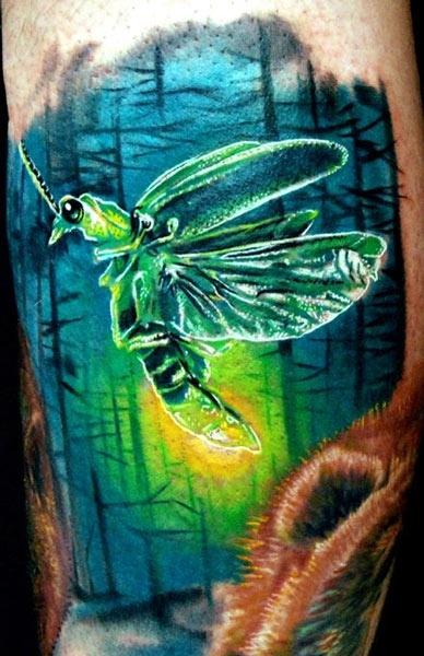 Tattoo Artist - Philip Garcia - Insect tattoo