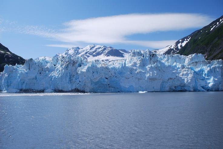 Glacier on Prince William Sound, Alaska
