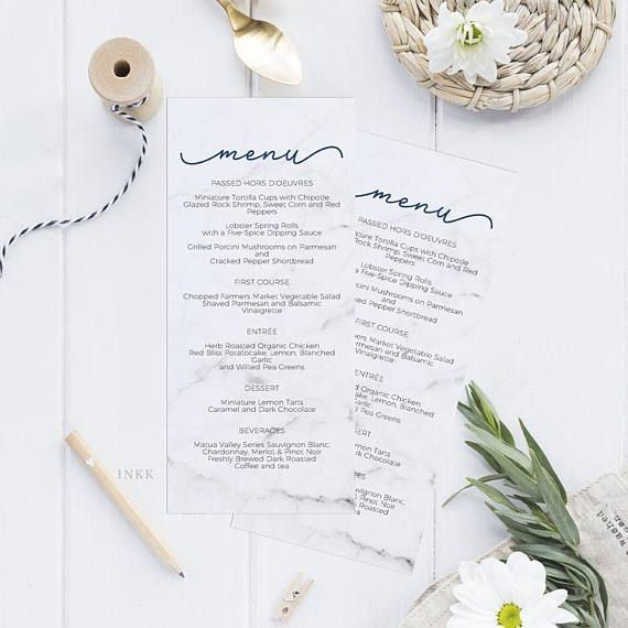 Best 25+ Wedding menu template ideas on Pinterest Free printable - event menu template