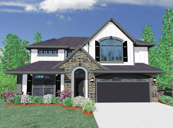 Best Houses Images On Pinterest Square Feet Home Plans And - Traditional house plans traditional home plans