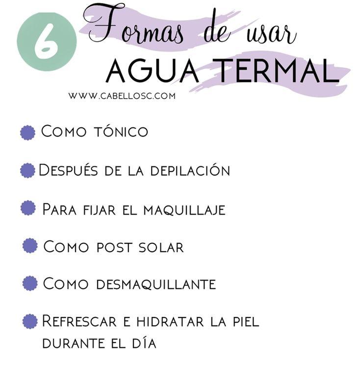 Agua Termal: Beneficios y Usos |Cuestiones de mujeres By C.