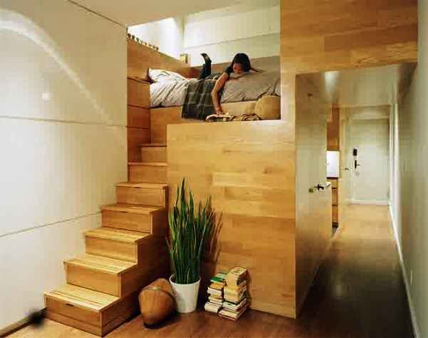 6 Contoh Desain Apartemen Kecil Yang Unik | Gambar Desain Rumah