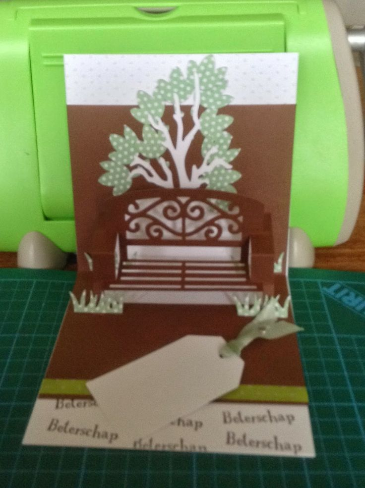 94 best images about cards garden bench pop up pop it ups for Garden designs by elizabeth