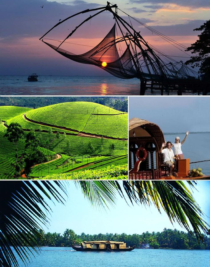 Cochin - Munnar - Kumarakom - Alleppey - Cochin Tour – Kerala Tours @ India Tourism Packages  http://toursfromdelhi.com/6-days-tour-of-cochin-munnar-kumarakom-and-alleppey