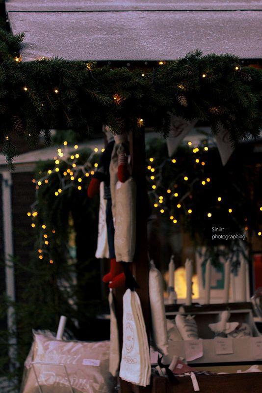 Christmas lights   by Siniirr