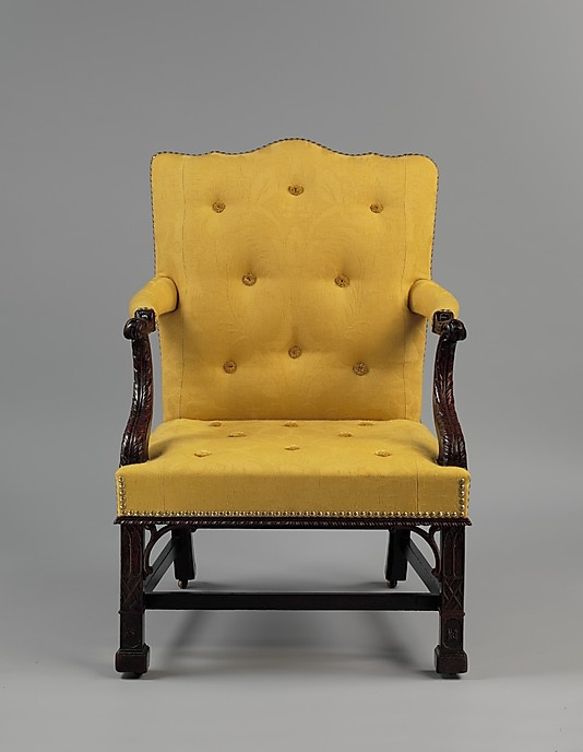 1768 Attributed to Thomas Affleck (American, born Scotland, Philadelphia  Mahogany and white oak with modern yellow silk upholstery 40 x 27 x 25 in. - 64 Best THOMAS AFFLECK MAKER : MYO Images On Pinterest Antique