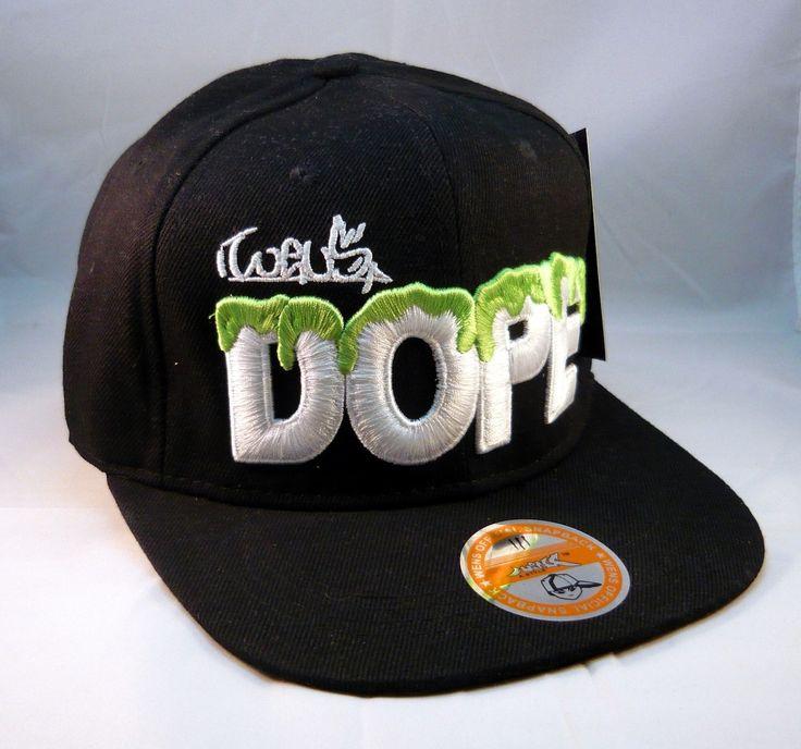 Black cap snapback dope wens - Casquette Dope noire snapback Wens #cap #black #mode