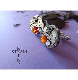 Steampunk Cufflinks Steamretro