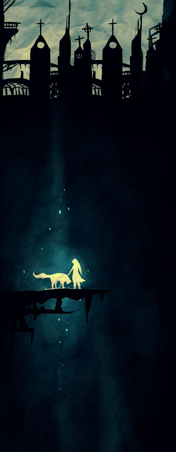 in a world where they are forced to conform a wolf and girl become the best of friends