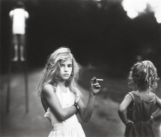 Sally Mann - Candy Cigarette.