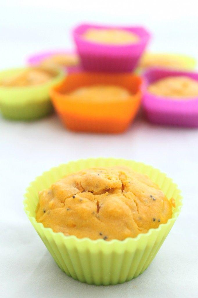 Muffin salati zucca e pancetta