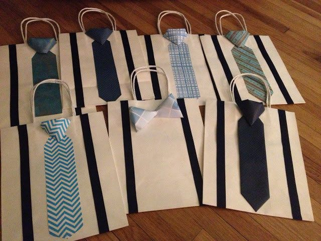 Groomsmen, Groom, Usher Gifts-  Bowtie and Knot Tie Gift Bags for Wedding, Fathers Day, Birthdays!  by BallerinaCreations, $3.75