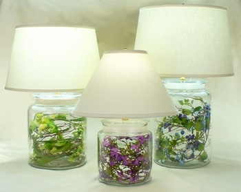 ideas for fillable lamp